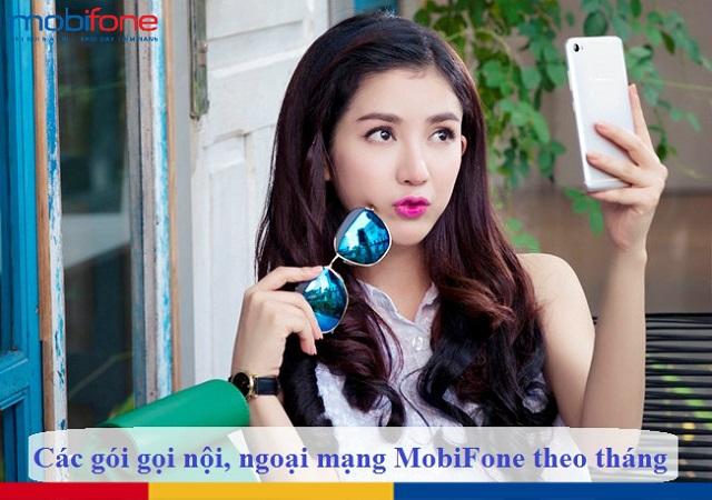 Tìm hiểu ngay các gói gọi nội, ngoại mạng MobiFone theo tháng