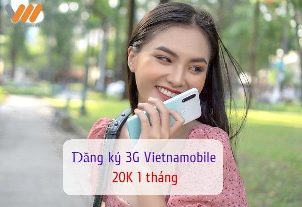 Các bước đăng ký 3G Vietnamobile